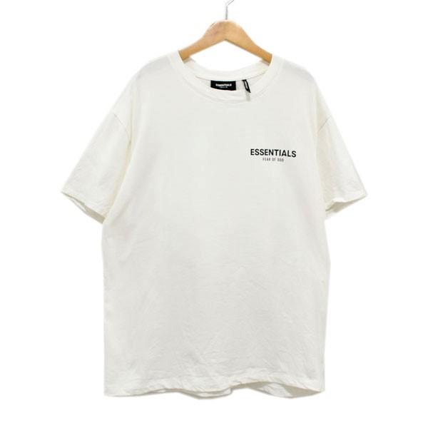【中古】FOG ESSENTIALS 19SS BOXY PHOTO SERIES T-SHIRT ロゴプリントTシャツ ホワイト サイズ:S 【180420】(エフオージー エッセンシャルズ)