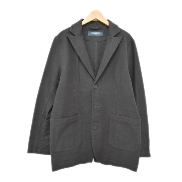【中古】phingerin 3Bテーラードジャケット ダークグレー サイズ:M 【180420】(フィンガリン)