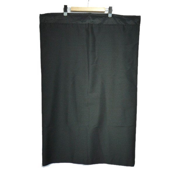 【中古】YOHJI YAMAMOTO ウエストジップ袋スカート ブラック サイズ:3 【170420】(ヨウジヤマモト)