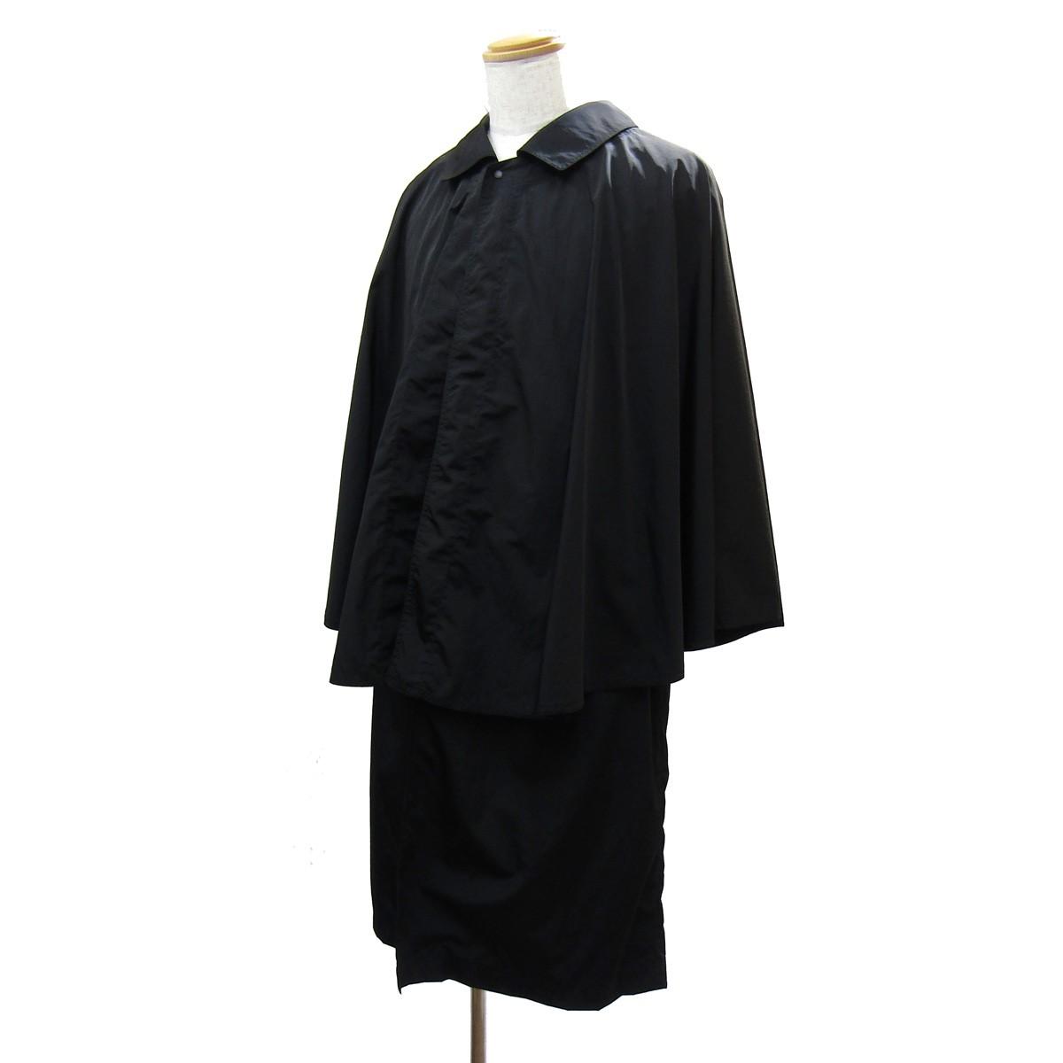 【中古】SASQUATCHfabrix. 2020SS NYLON TONBI COAT/ナイロントンビコート ブラック サイズ:L 【170420】(サスクワァッチファブリックス.)