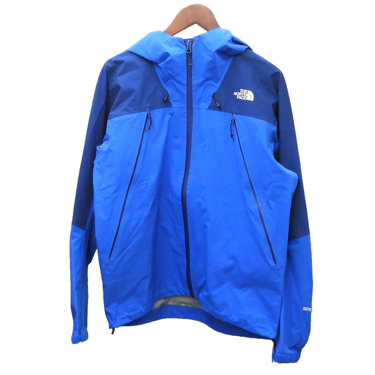 【中古】THE NORTH FACE 「Progressor Jacket」プログレッサージャケット ブルー サイズ:M 【190420】(ザノースフェイス)