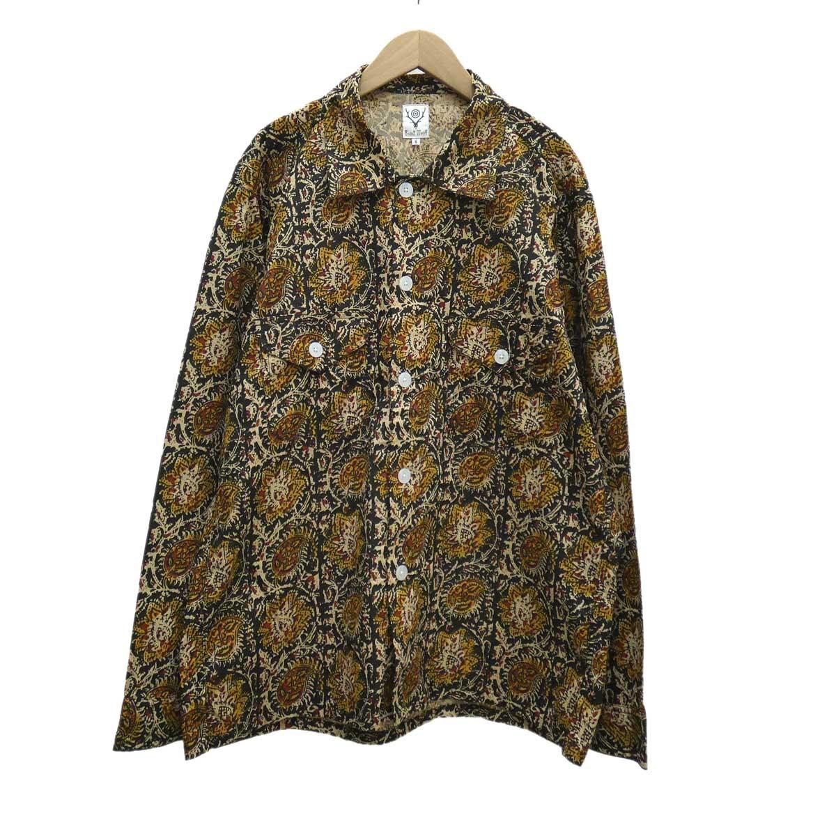 【中古】South2 West8 Smokey Shirt マルチカラー サイズ:S 【190420】(サウスツーウエストエイト)