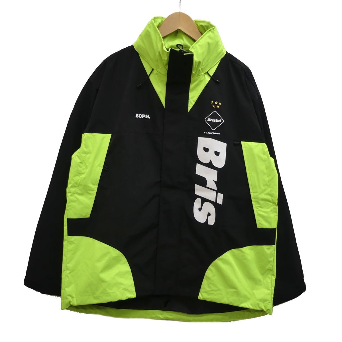 【中古】F.C.R.B. 20SS TOUR JACKET ツアージャケット イエロー×ブラック サイズ:L 【200420】(エフシーアールビー)