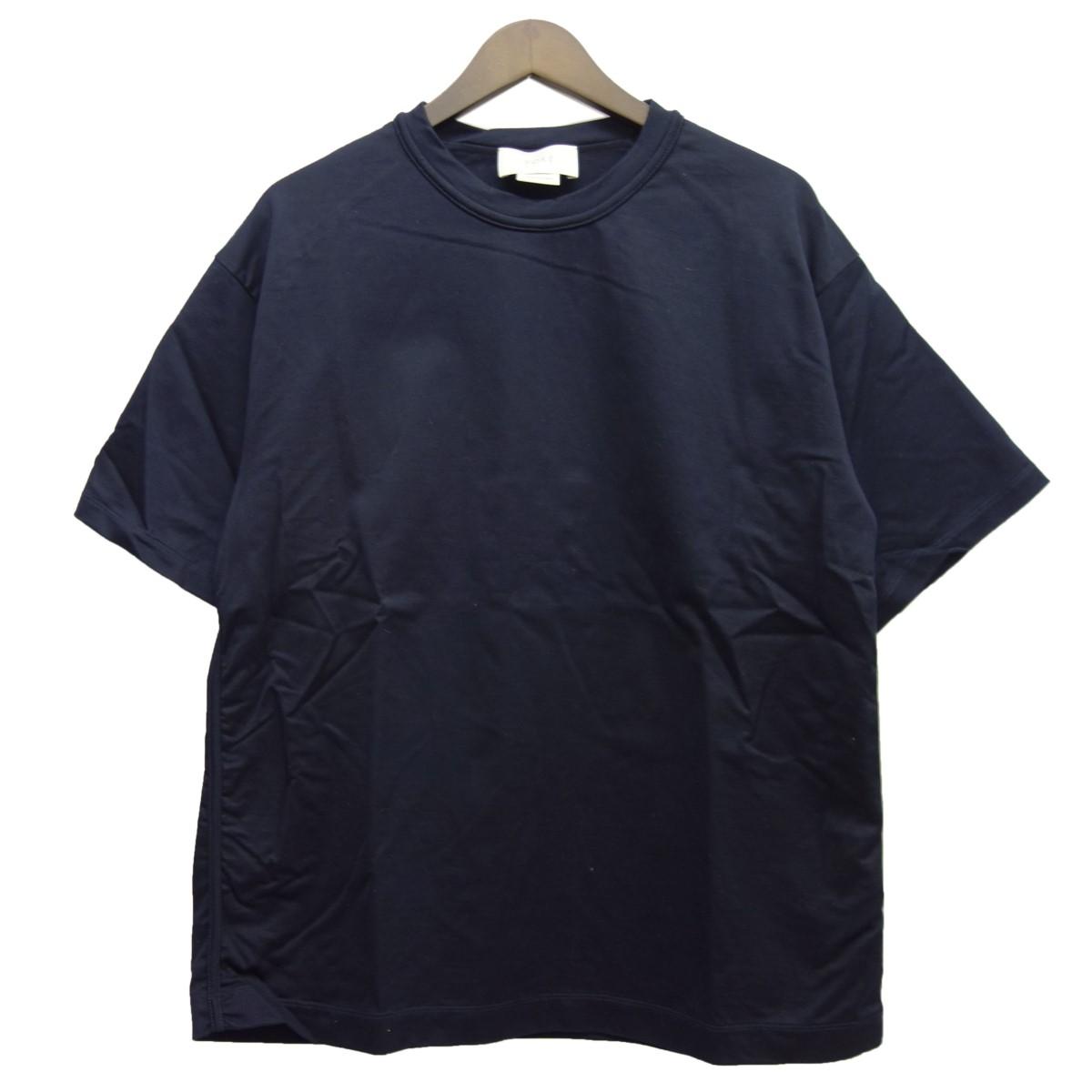 【中古】YOKE 19SS「INSIDE OUT T-SHIRT」インサイドアウトTシャツ ネイビー サイズ:S 【200420】(ヨーク)