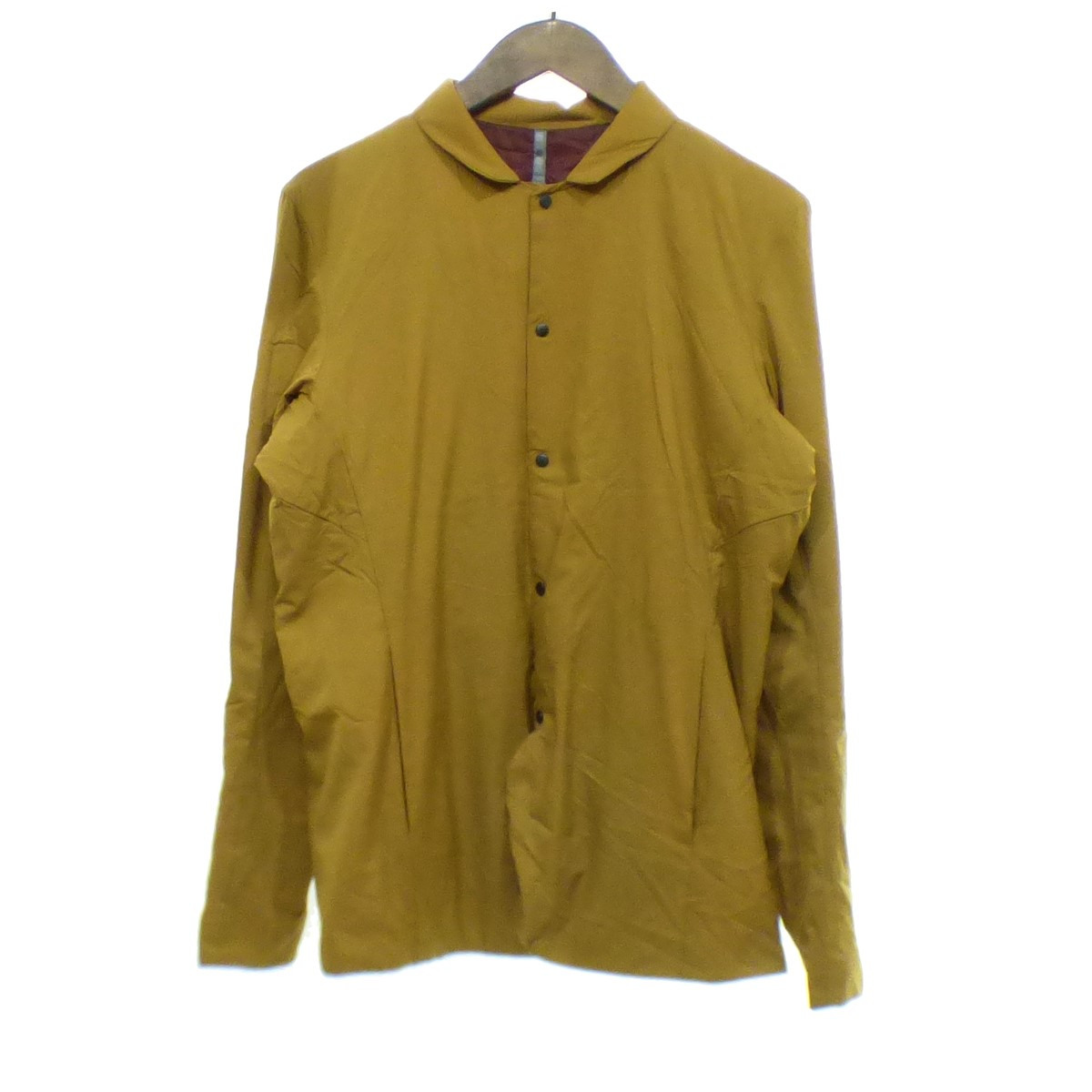 【中古】ARC'TERYX VEILANCE Mionn IS Blazer ジャケット マスタード サイズ:S 【200420】(アークテリクスヴェイランス)