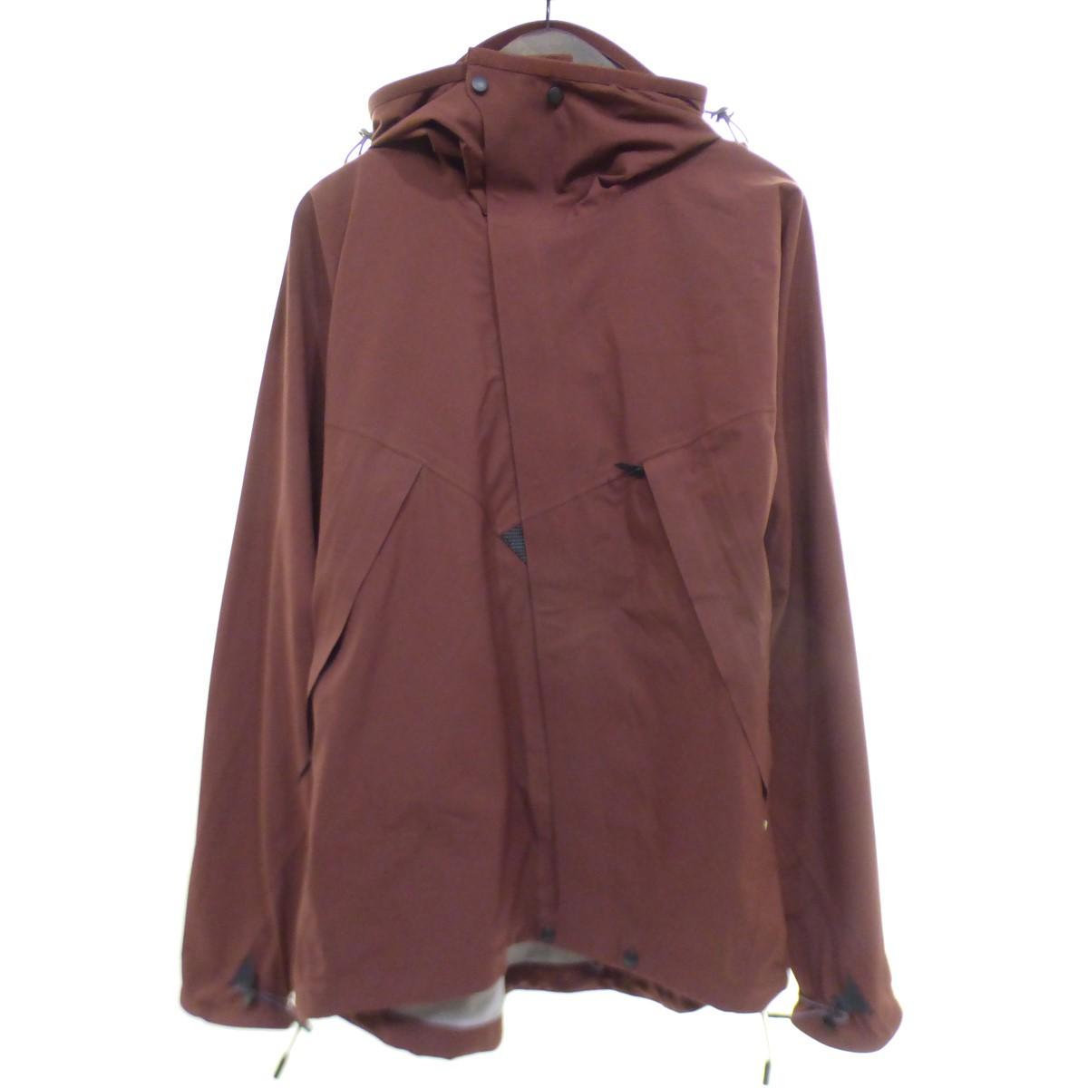 【中古】KLATTERMUSEN Allgron Jacket ナイロンマウンテンパーカー ボルドー サイズ:M 【200420】(クレッタルムーセン)