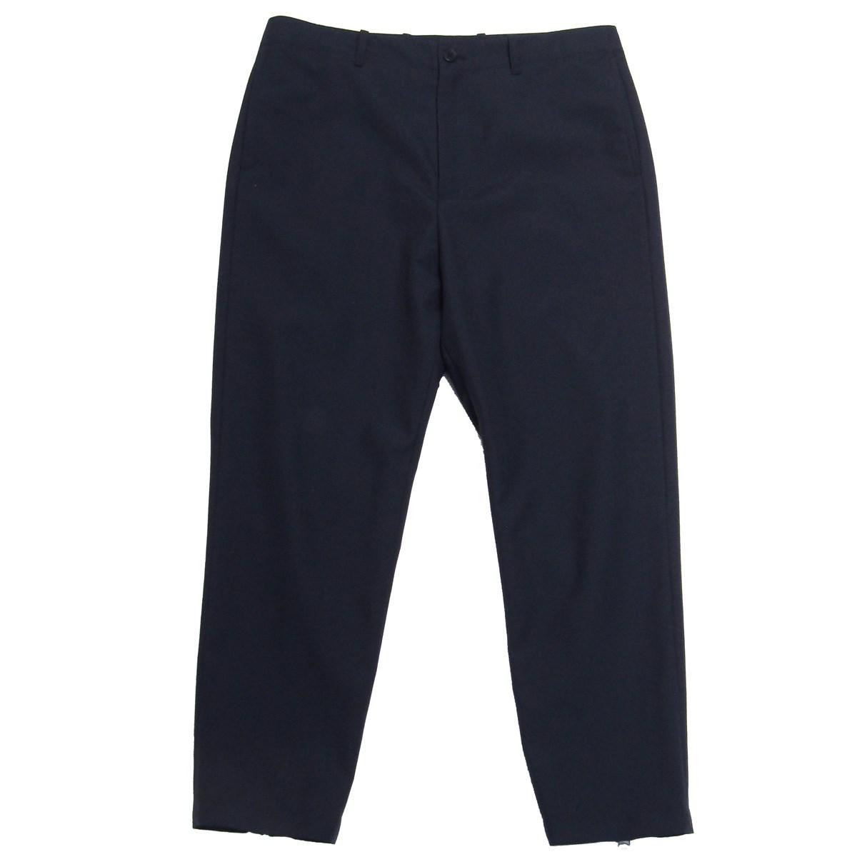 【中古】OAMC2020SS Virgin Wool Slim Trousers ジップスラックスパンツ ダークネイビー サイズ:31 【7月2日見直し】