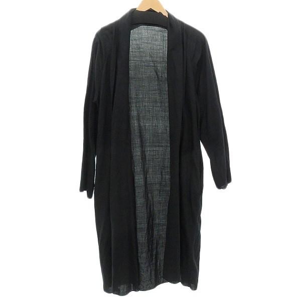 【中古】MITTAN 羽織コート ブラック サイズ:1 【210420】(ミタン)