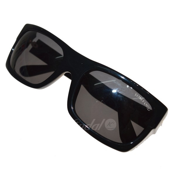 【中古】TOM FORD TF440 サングラス ブラック サイズ:56□18 130 【210420】(トムフォード)