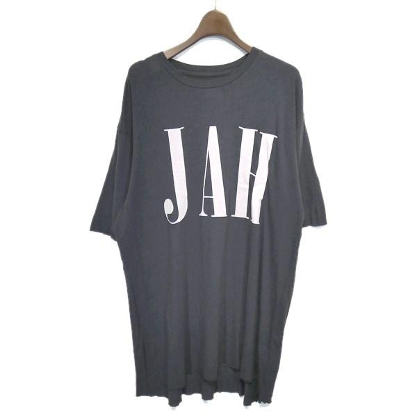 【中古】ALCHEMIST 2019SS「JAH TEE」カットオフプリントTシャツ グレー サイズ:M 【220420】(アルケミスト)