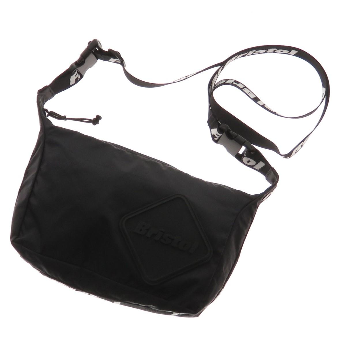 【中古】F.C.R.B. EMBLEM 2 WAY SMALL SHOULDER BAG ショルダーバッグ ブラック 【220420】(エフシーアールビー)