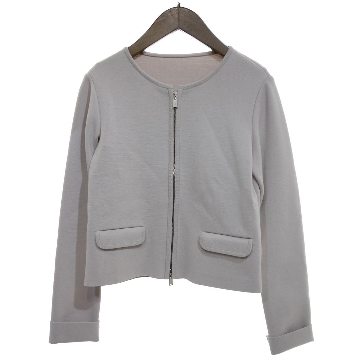 【中古】FOXEY 【AD2018】knit Jacket Urban Standard ジャケット ナチュラル サイズ:38 【220420】(フォクシー)