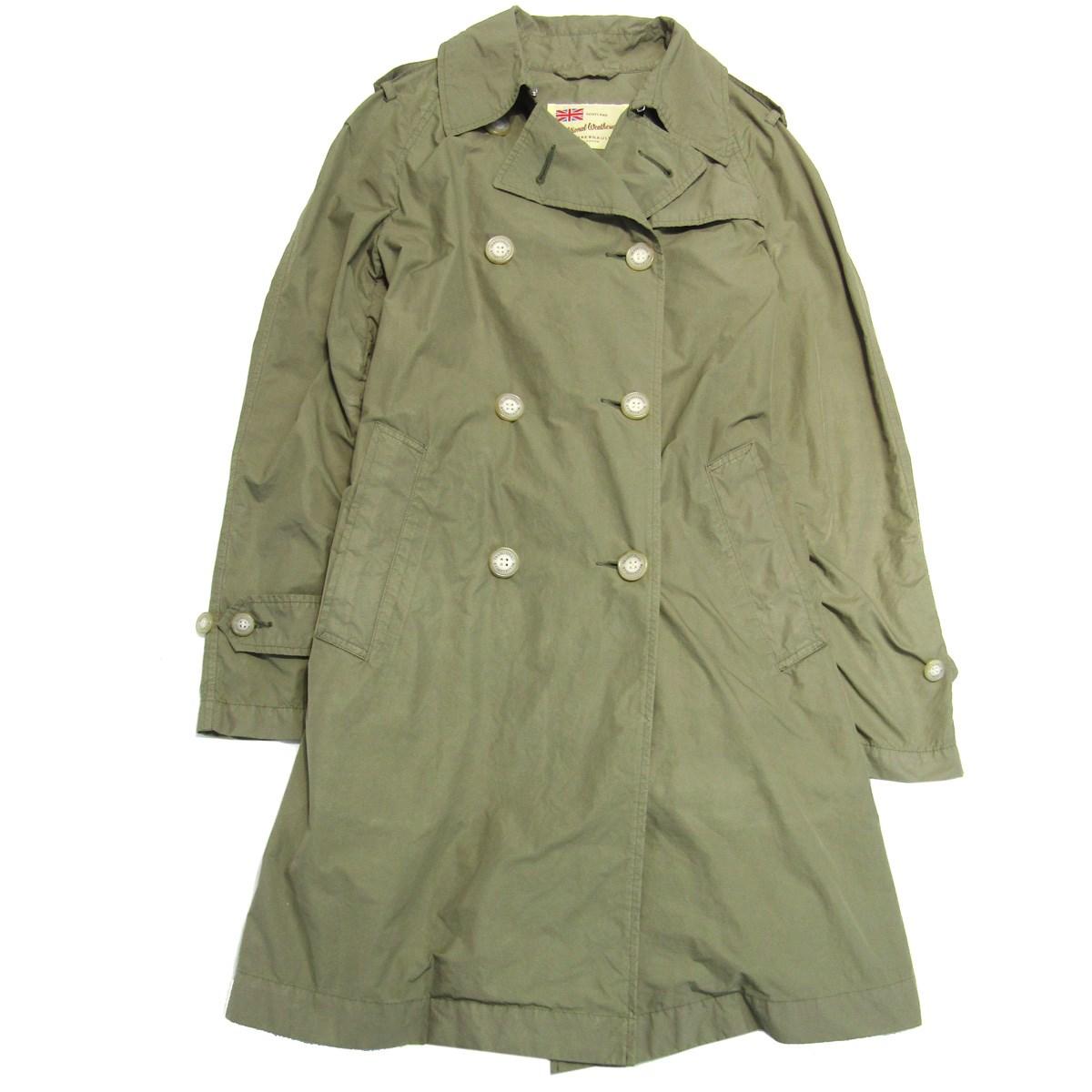 【中古】Traditional Weatherwear MELLING PACKABLE COAT パッカブルコート カーキ サイズ:34 【220420】(トラディショナル ウェザーウェア)