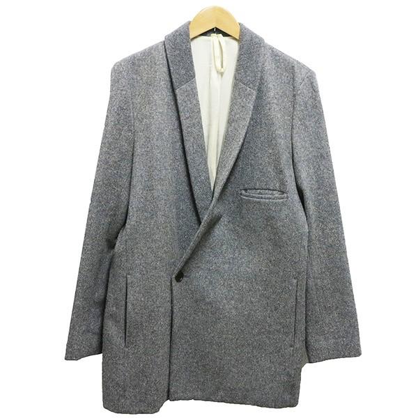 【中古】Edwina Horlウールジャケットコート グレー サイズ:M 【5月11日見直し】
