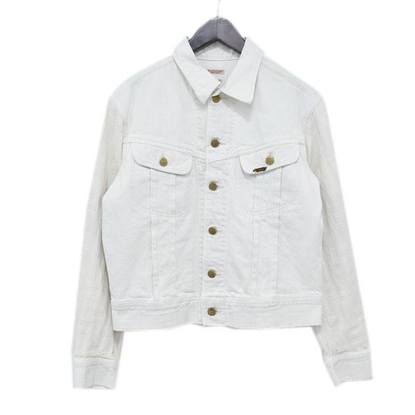 【中古】KAPITAL 切替デニムジャケット K1504LJ25 ホワイト(袖:キナリ) サイズ:40 【230420】(キャピタル)