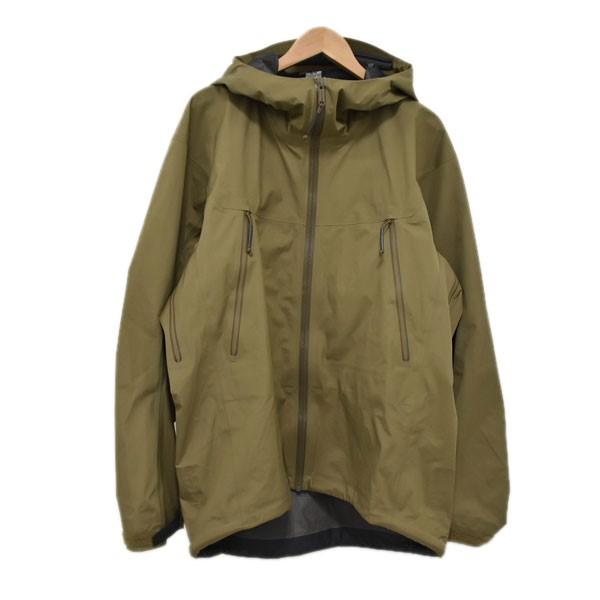 【中古】ARCTERYX マウンテンパーカー LEAF Alpha Jacket LT Gen2 アルファジャケット オリーブ サイズ:M 【230420】(アークテリクス)