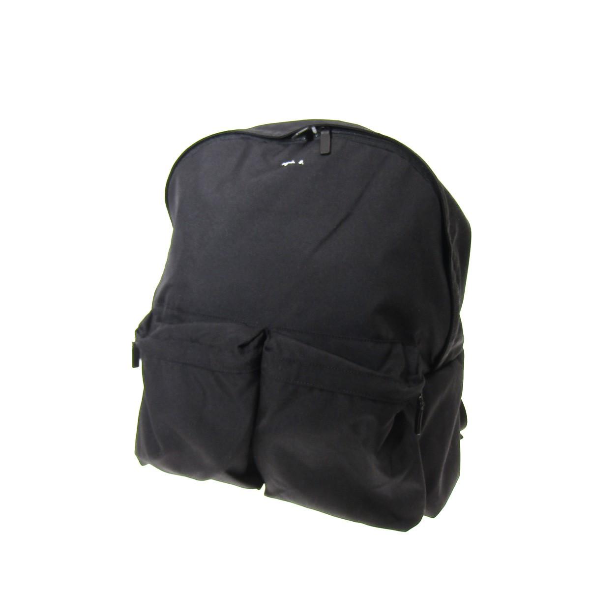 【中古】agnes b. VOYAGE ロゴバックパック ブラック 【230420】(アニエスベー ボヤージュ)