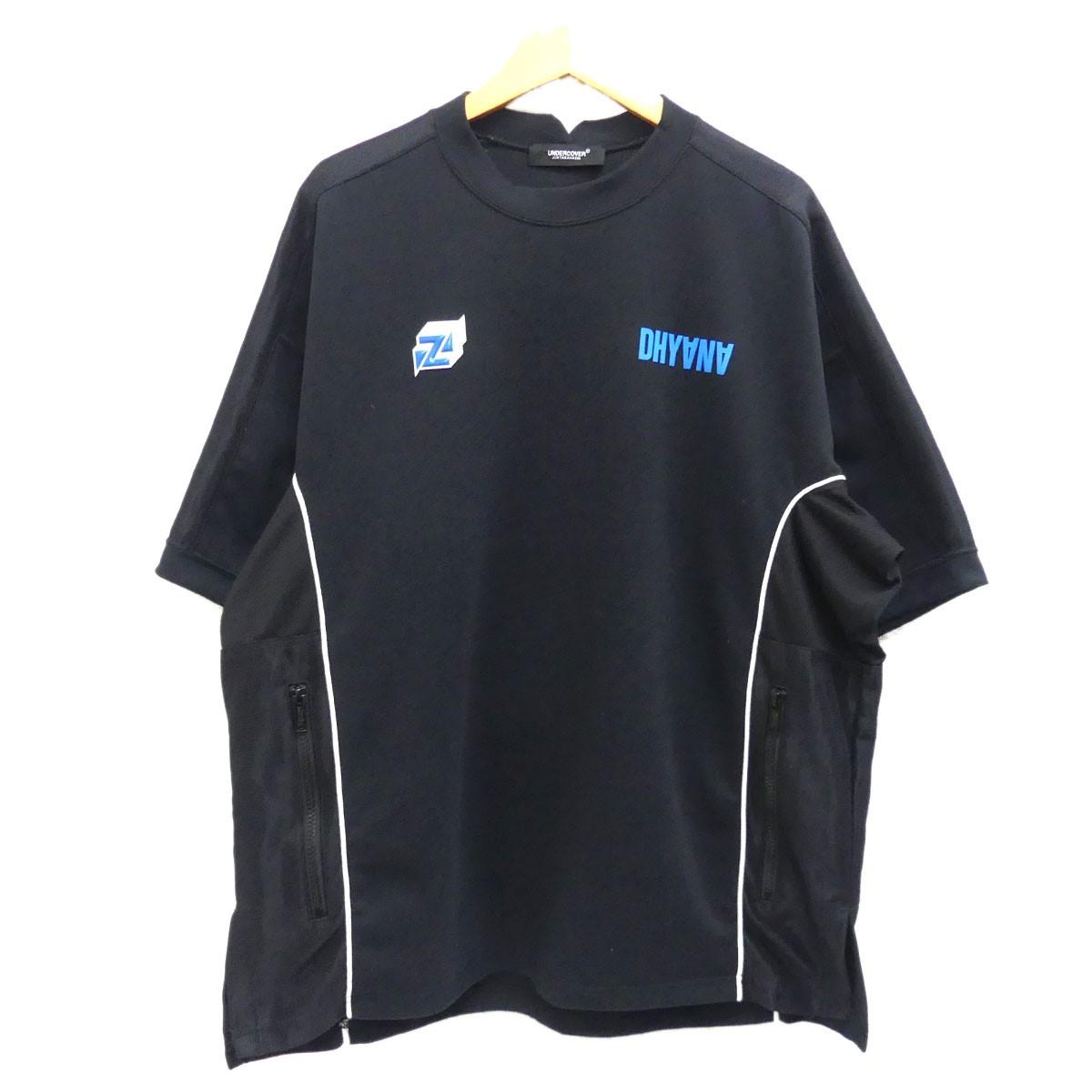 【中古】UNDER COVER 2019SS オーバーサイズデザインTシャツ ブラック サイズ:3 【250420】(アンダーカバー)