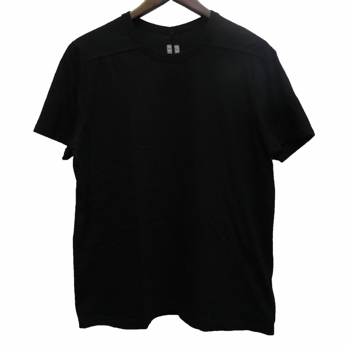 【中古】Rick Owens 17SS RU17S9265-JT ラウンドネックTシャツ ブラック サイズ:IT M 【250420】(リックオウエンス)