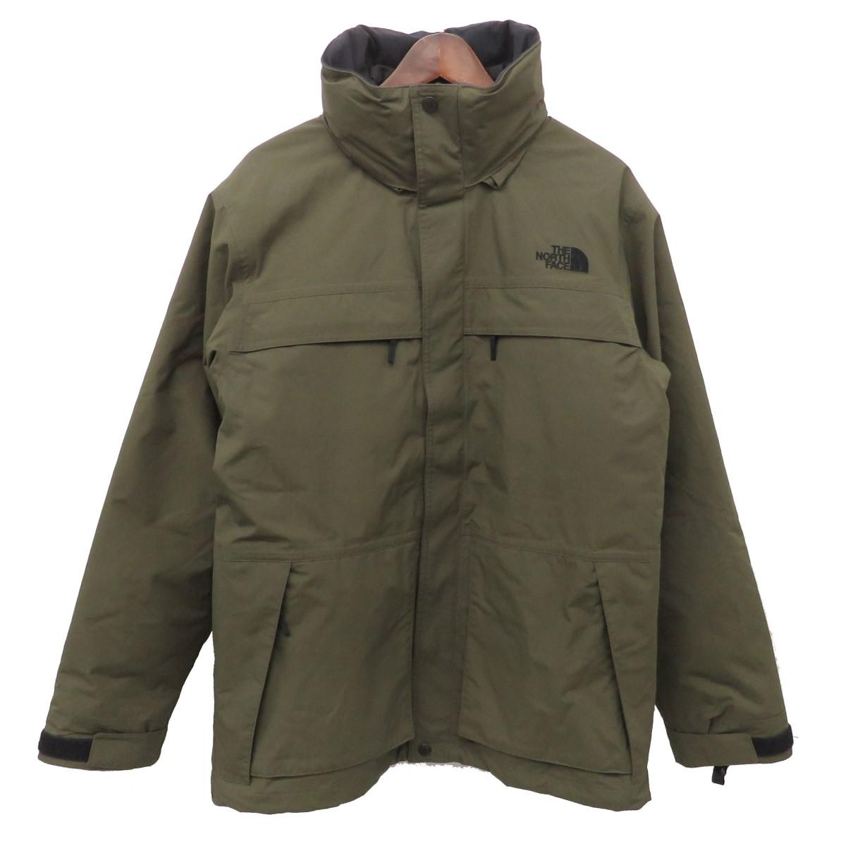 【中古】THE NORTH FACE Makalu Triclimate Jacket マカルトリクライメイトジャケット NP61937 オリーブ サイズ:XL 【260420】(ザノースフェイス)