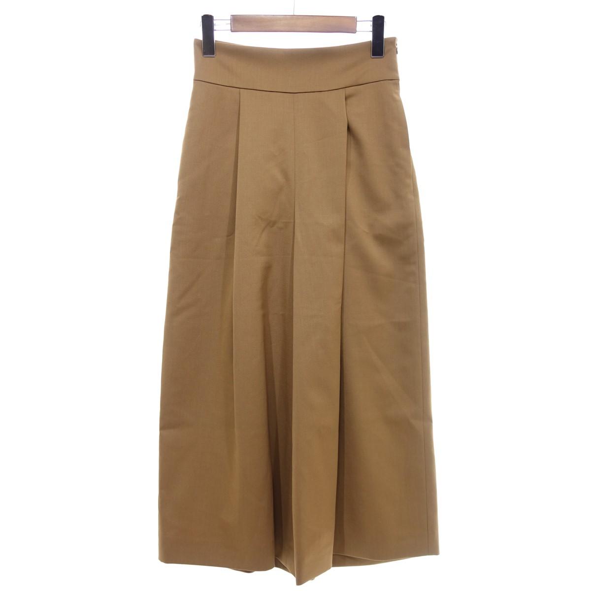 【中古】FOXEY Pants Style Up ブラウン サイズ:38 【260420】(フォクシー)