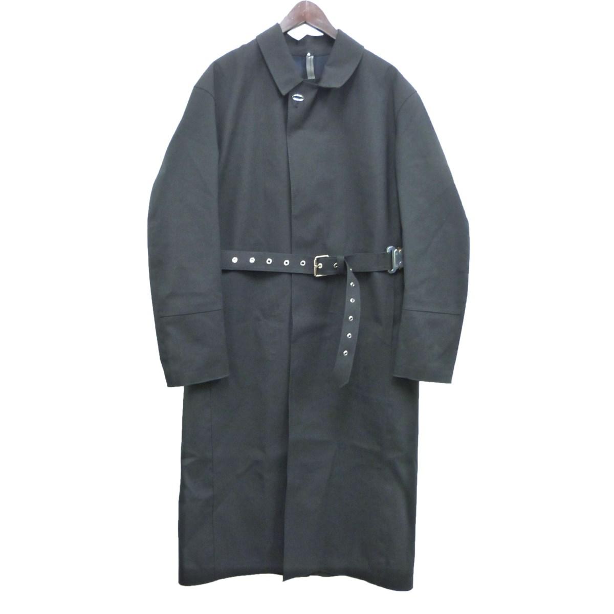 【中古】mackintosh×ALYX ステンカラーコート ブラック サイズ:M 【270420】(マッキントッシュ×アリクス)