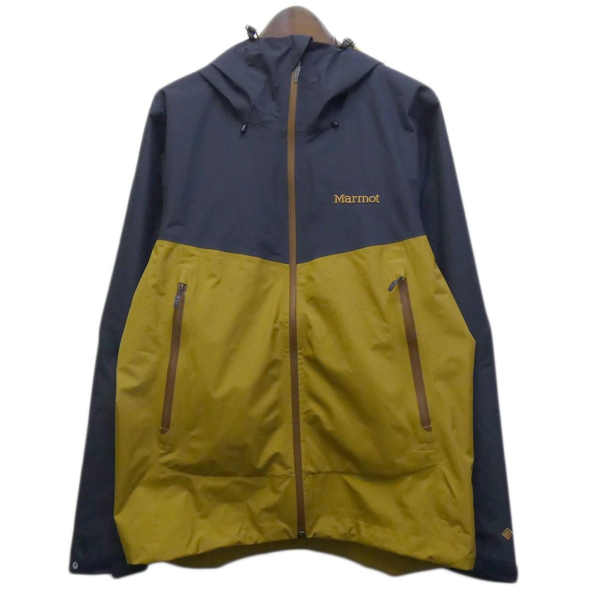 【中古】Marmot 「COMODO JACKET」 コモドジャケット ネイビー×マスタード サイズ:L 【270420】(マーモット)