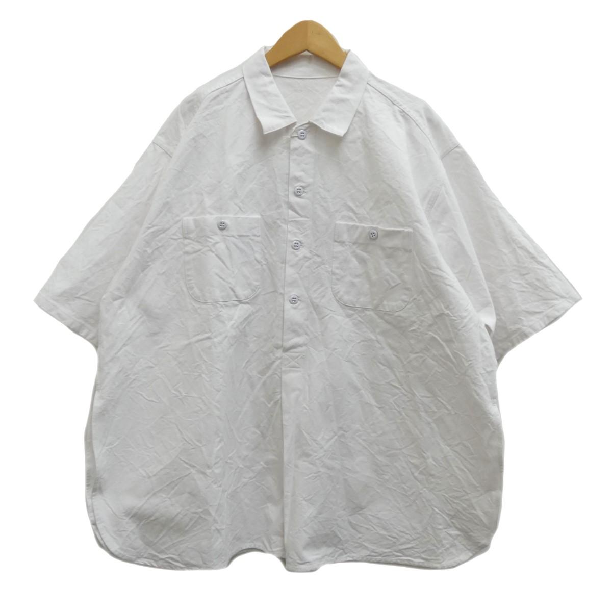 【中古】TUKI プルオーバーシャツ ホワイト サイズ:4 【280420】(ツキ)