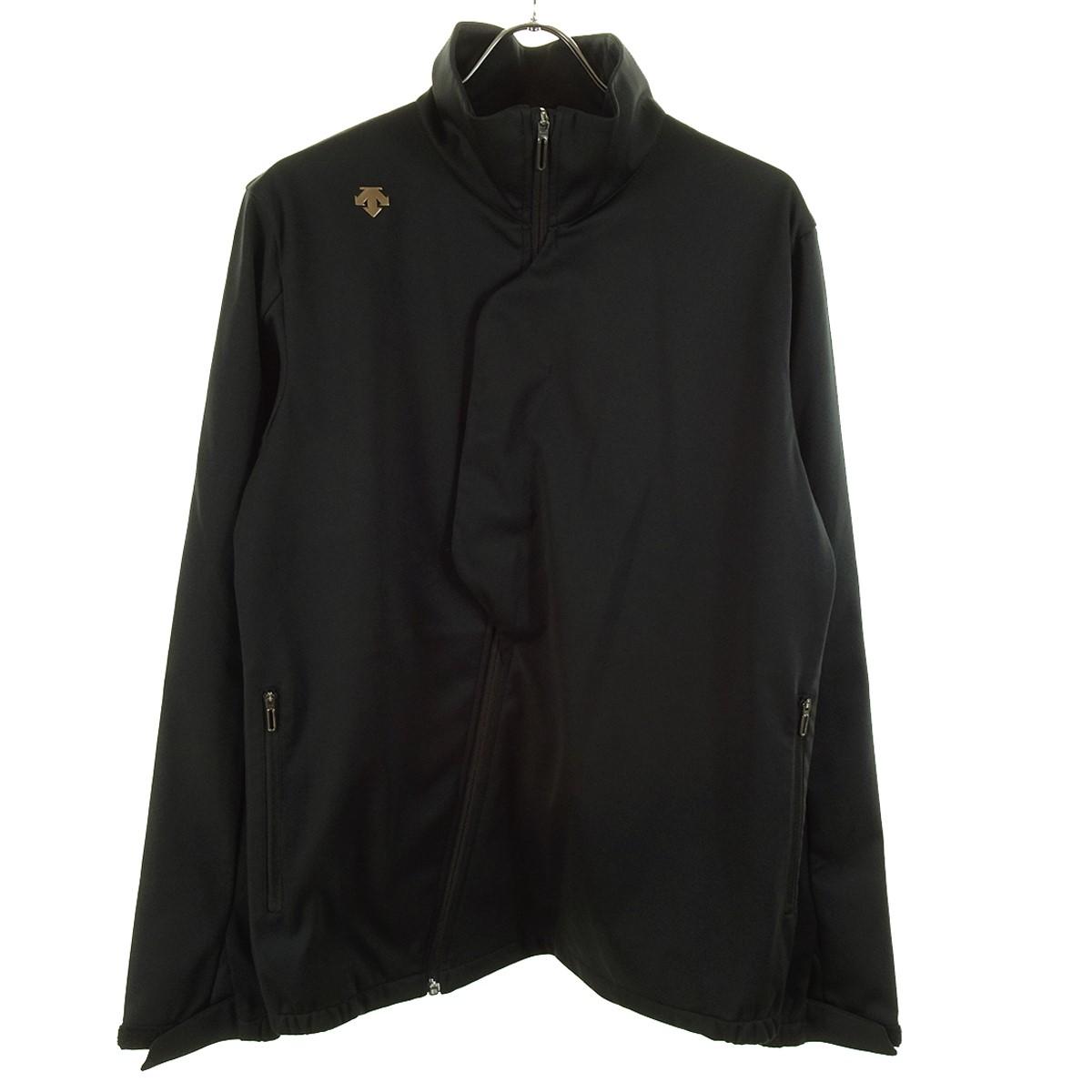 【中古】DESCENTE GOLF ジップジャケット ブラック サイズ:0 【280420】(デサントゴルフ)