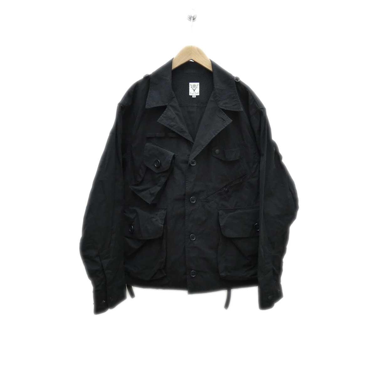 【中古】S2W8 TENKARA SHIRT ブラック サイズ:M 【290420】(エスツーダブルエイト)