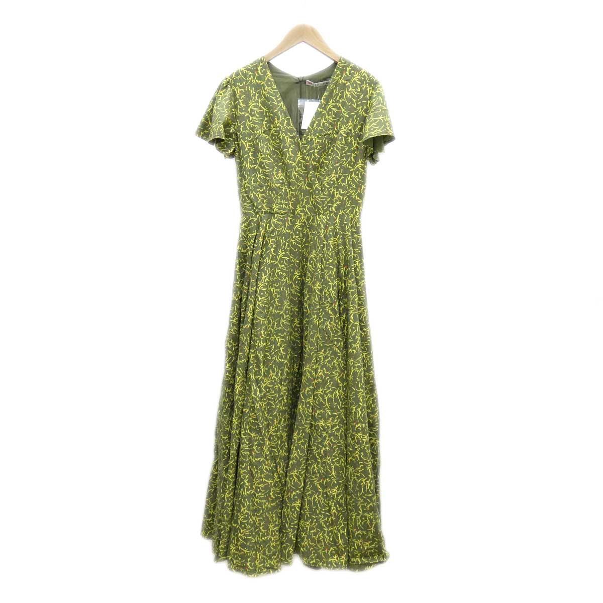 【中古】MARIHA マドモアゼルのドレス イエロー サイズ:36 【290420】(マリハ)