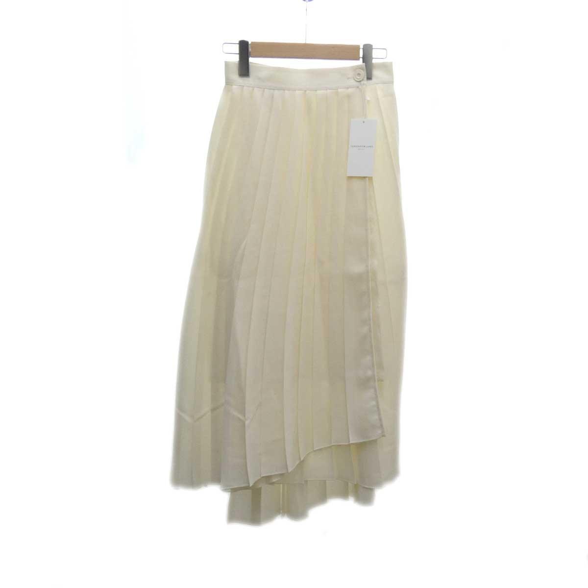 【中古】TOMORROW LAND プリーツスカート 19AW オフホワイト サイズ:32 【290420】(トゥモローランド)