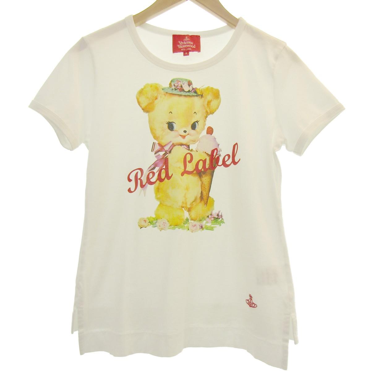【中古】Vivienne Westwood RED LABEL 19SS プリントTシャツ ホワイト サイズ:M 【290420】(ヴィヴィアンウエストウッドレッドレーベル)