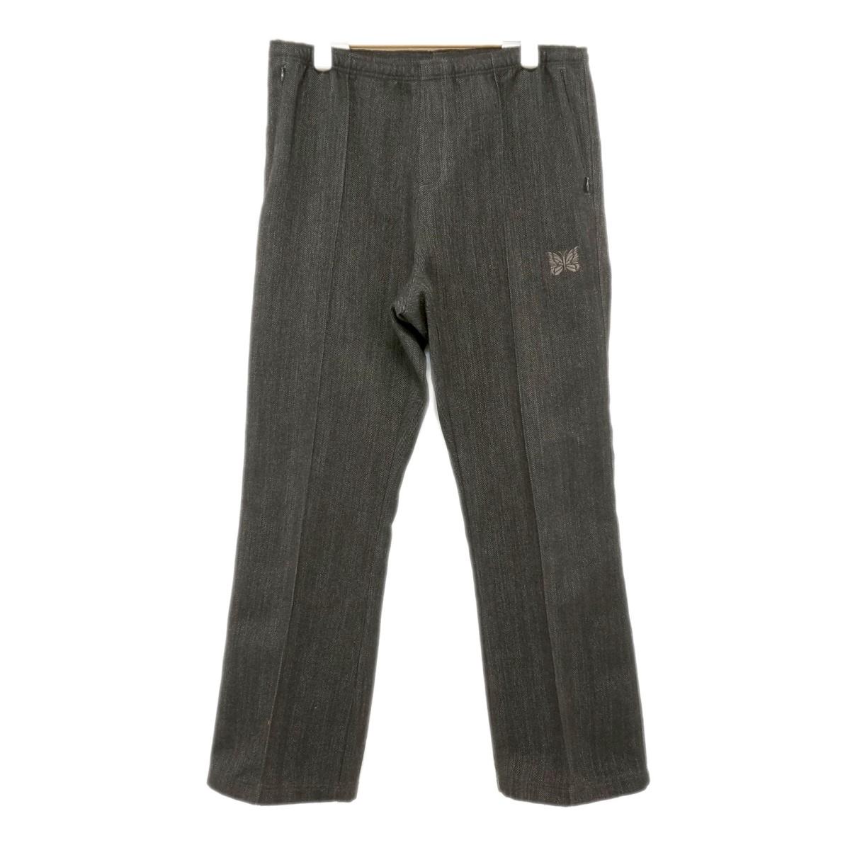 【中古】Needles Warm-Up Boot-Cut Pant ブーツカットパンツ FK331 ダークグレー サイズ:M 【300420】(ニードルス)