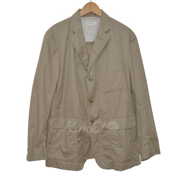 【中古】Engineered GarmentsHigh Count Twill Backer Jacket ベージュ サイズ:S 【5月11日見直し】