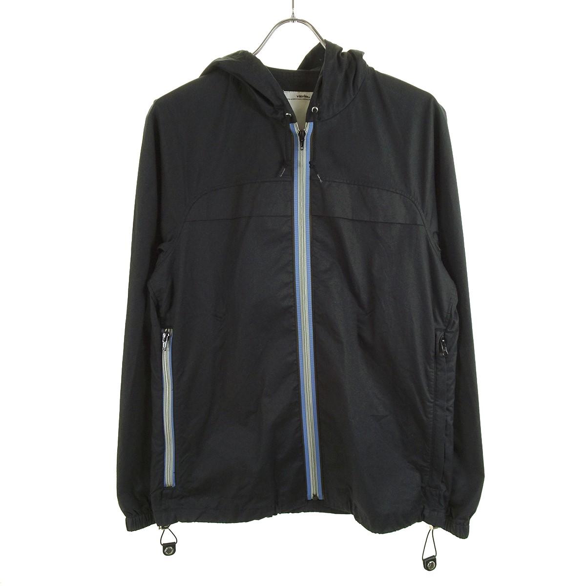【中古】VISVIM904 HOODIE フーデットジャケット ブラック サイズ:S 【5月11日見直し】