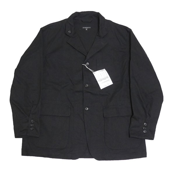 【中古】Engineered Garments 2020SS Loiter Jacket-High Count Twill ブラック サイズ:M 【300420】(エンジニアードガーメンツ)