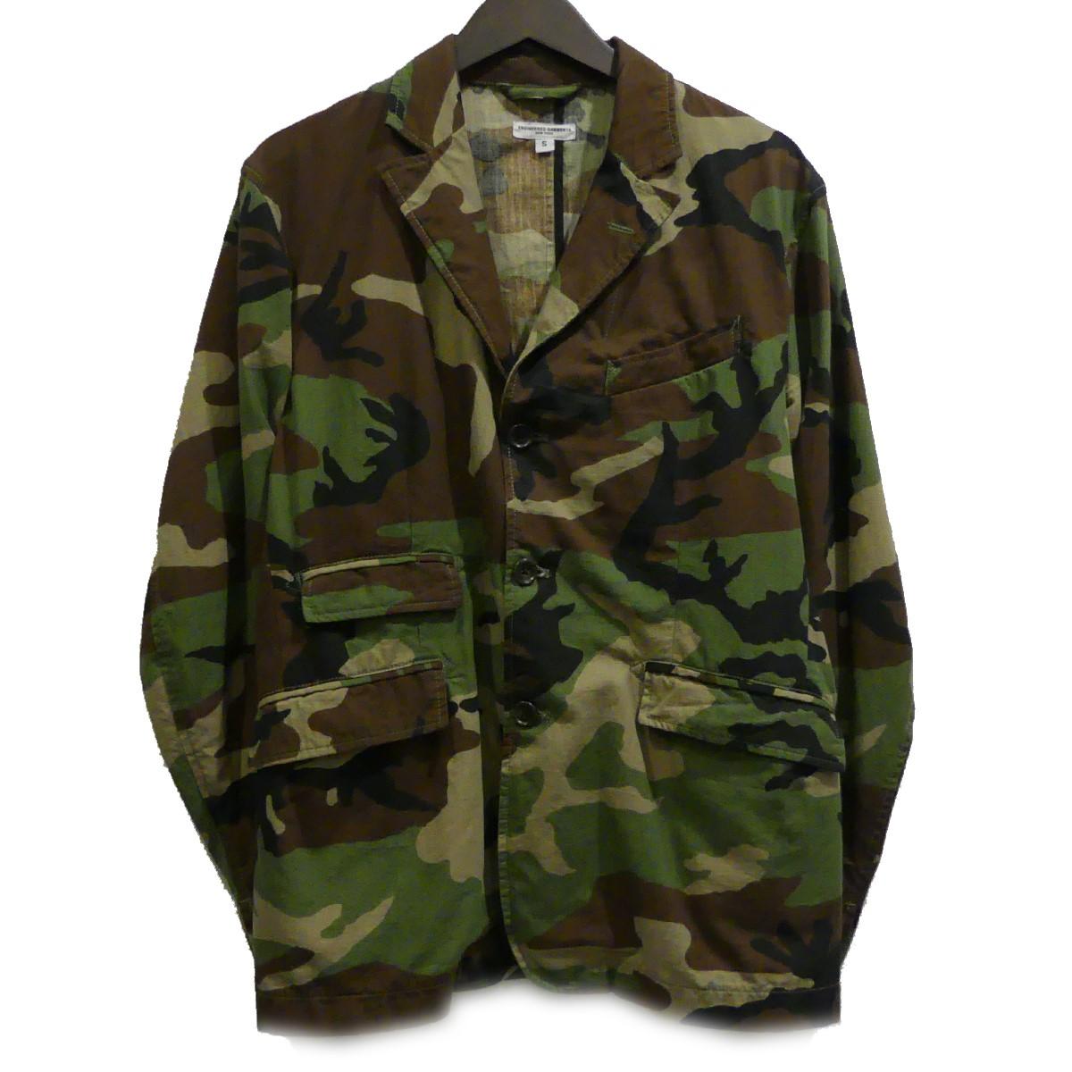 【中古】Engineered Garments LOFTMAN別注 カモフラージュ アンドーバー ジャケット カーキ サイズ:S 【300420】(エンジニアードガーメンツ)