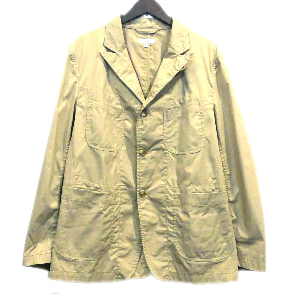 【中古】Engineered Garments NB New Bedford Jacket ベージュ サイズ:S 【300420】(エンジニアードガーメンツ)