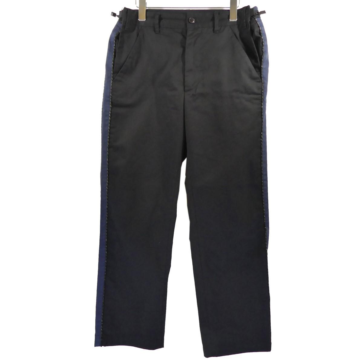 【中古】AiE mb pant サイドラインチノパンツ ブラック サイズ:S 【300420】(エーアイイー)