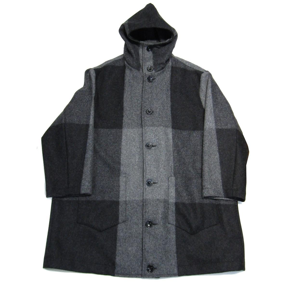 【中古】CINI HOODIE OVER COAT フードオーバーコート グレー 【010520】(チーニ)