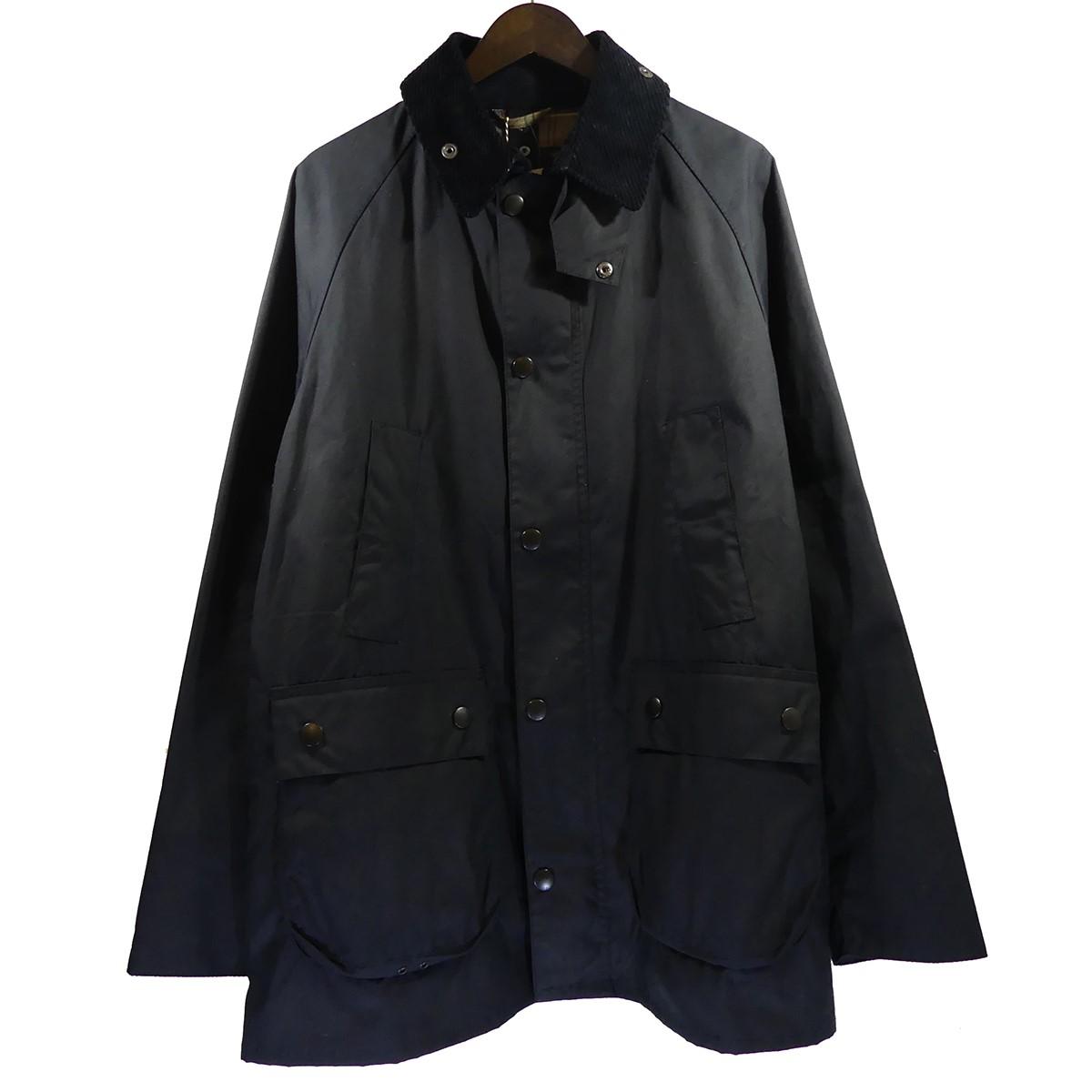 【中古】Barbour BEDALE SL スリムフィットビデイルジャケット ネイビー サイズ:40 【010520】(バブアー)