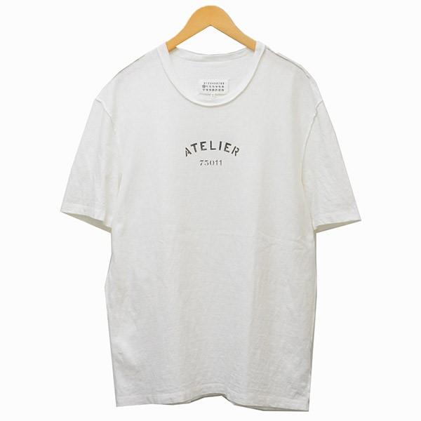【中古】Martin Margiela 10 2018SS Tシャツ ホワイト サイズ:46 【010520】(マルタンマルジェラ 10)