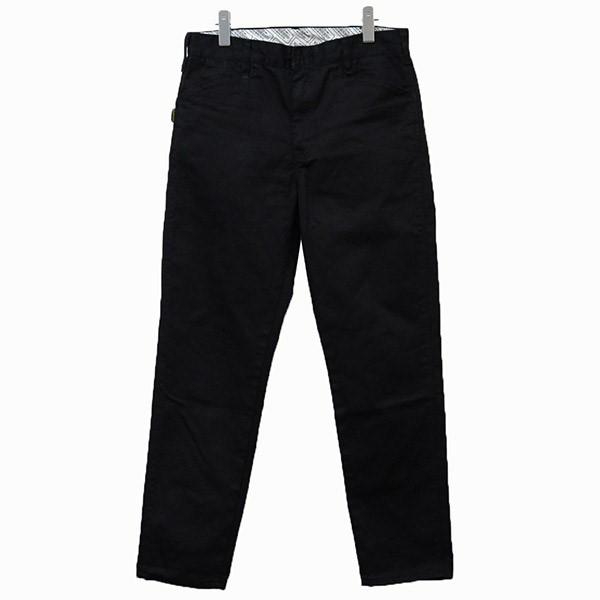 【中古】NEIGHBOR HOOD 2019AW チノパン パンツ ブラック サイズ:M 【010520】(ネイバーフッド)