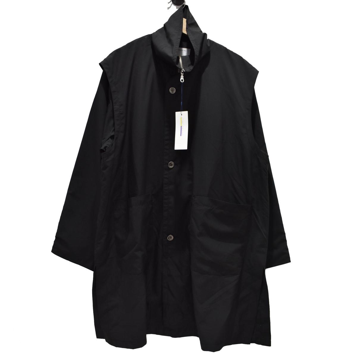 【中古】MADE BY WISLOM CIAOPANIC別注 ヨークコート スプリングコート ブラック サイズ:M 【020520】(メイドバイウィズロム)