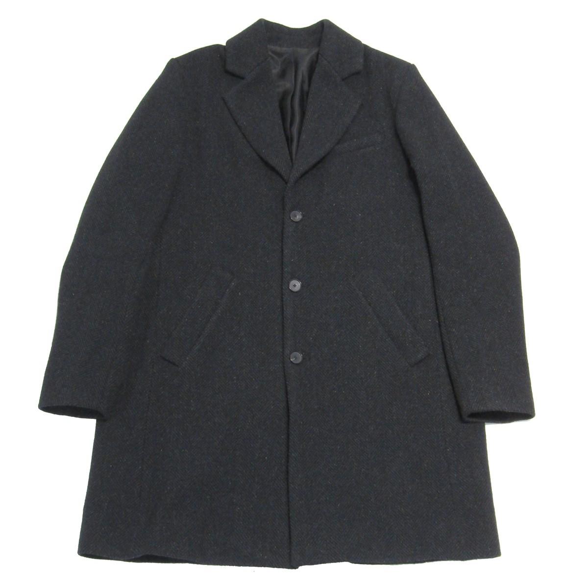 【中古】A KIND OF GUISE Virgin Wool Tweed Chester Coat ツイードチェスターコート グレー サイズ:M 【020520】(ア カインド オブ ガイズ)