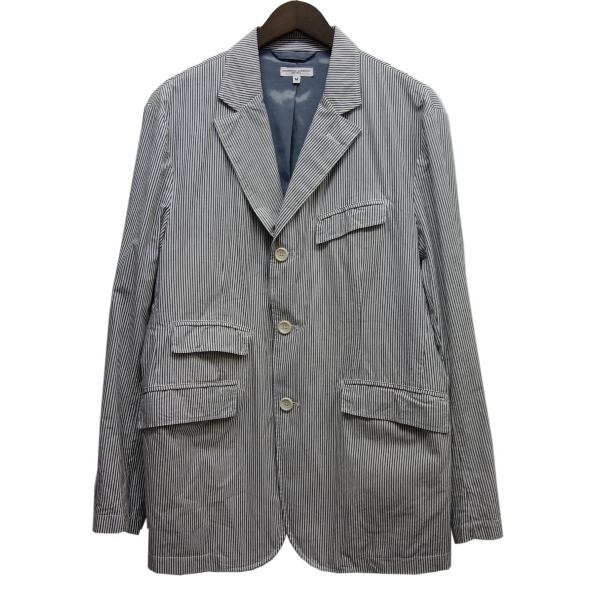 【中古】Engineered Garments 「Andover Jacket」アンドーバージャケット ホワイト×ライトグレー サイズ:M 【020520】(エンジニアードガーメンツ)