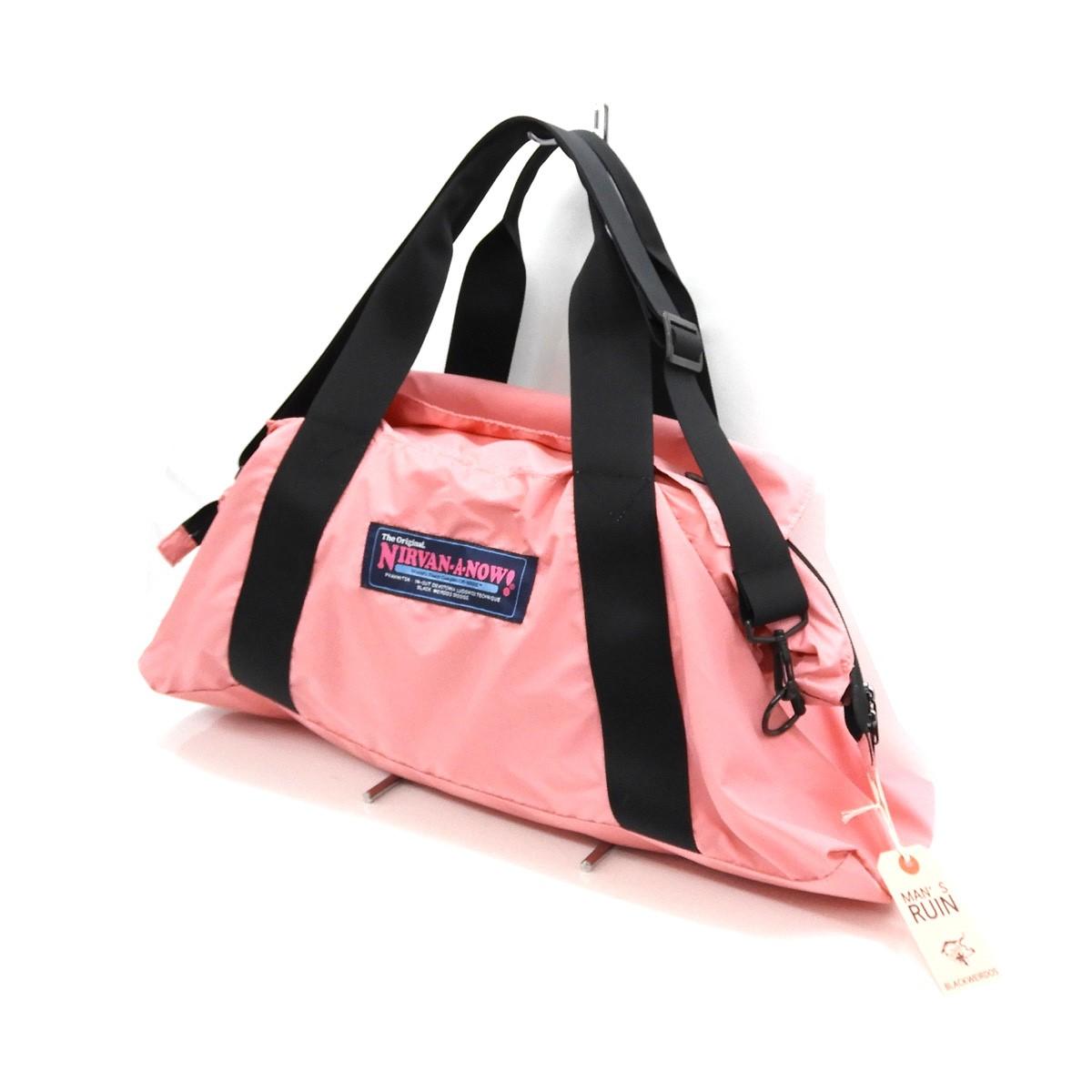 【中古】BLACK WEIRDOS 2020SS 「Smuggler Bag」ショルダーバッグ ピンク サイズ:- 【030520】(ブラックウィドウ)