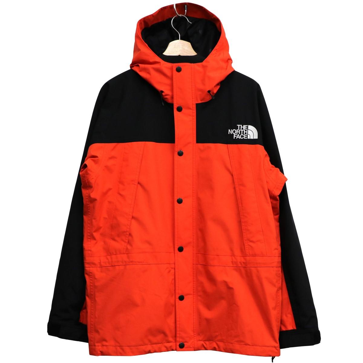 【中古】THE NORTH FACE 18AW Mountain Light Jacket GORE-TEXマウンテンライトジャケット ファイアリーレッド サイズ:L 【020520】(ザノースフェイス)