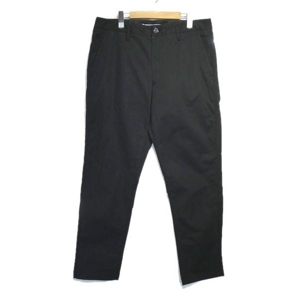 【中古】STONE ISLAND 「GARMENT DYED CHINO PANTS」ガーメントダイチノパンツ ブラック サイズ:34 【030520】(ストーンアイランド)